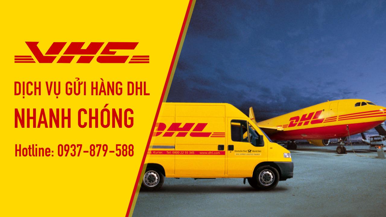 DHL - dịch vụ chuyển hàng từ Việt Nam đi quốc tế giá rẻ