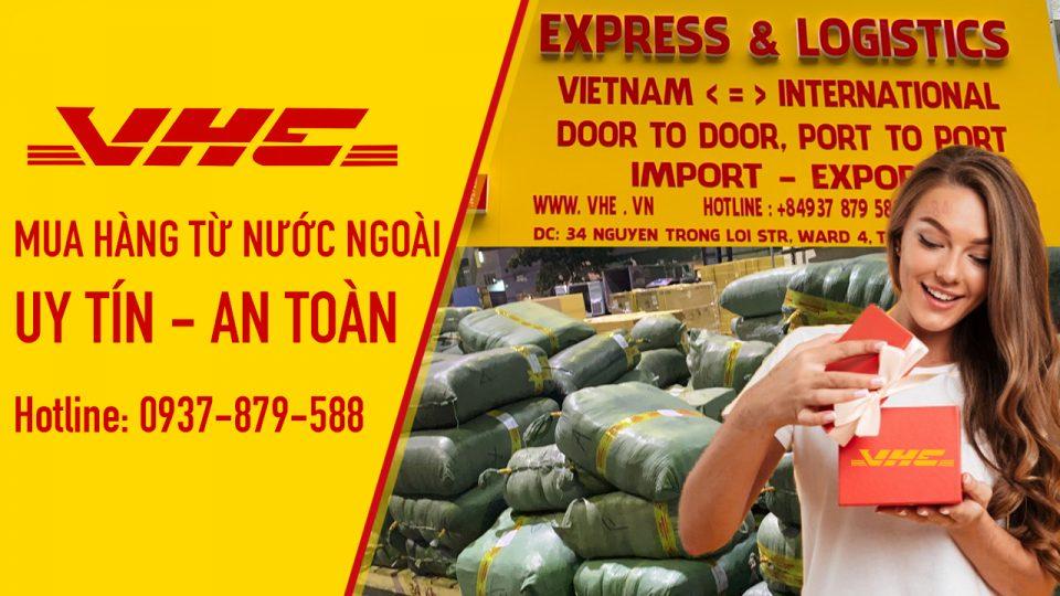 mua hàng từ nước ngoài chuyển về việt nam