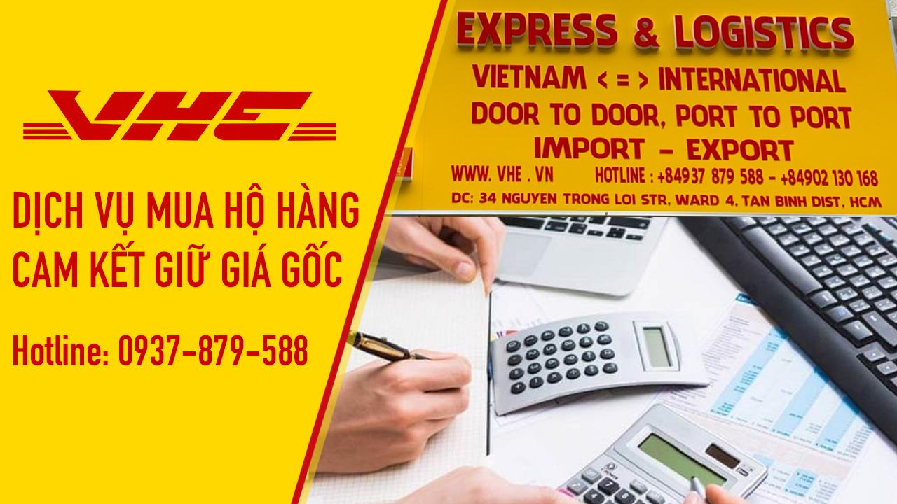 Dịch vụ mua hàng từ nước ngoài cam kết giữ giá gốc 100%