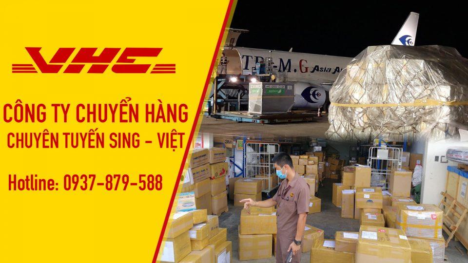 VHE - chuyển hàng từ Singapore về Việt Nam bằng đường hàng không