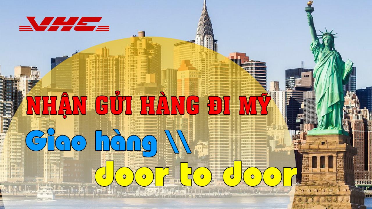 Nhận hàng door to door tại Mỹ