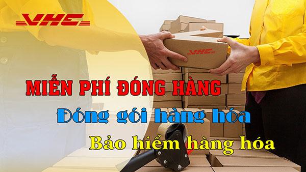 Miễn phí đóng gói hàng hóa gửi đi Mỹ