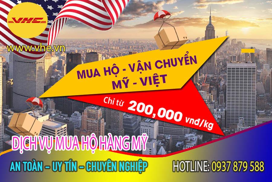 Mua hộ ship hàng Mỹ về Việt Nam