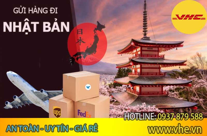 Nhận gửi hàng đi Nhật