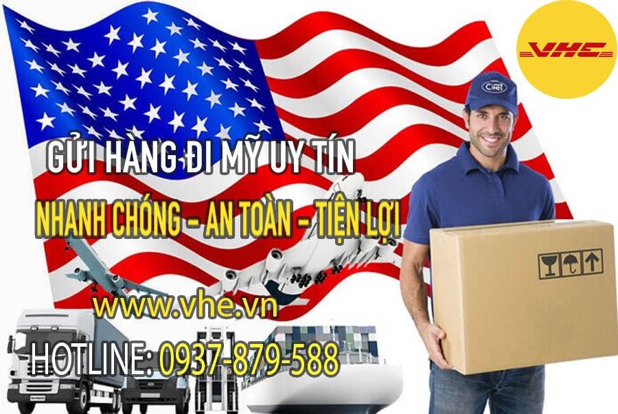 Bạn có thể gửi hàng đi Mỹ bằng đường biển hoặc đường hàng không