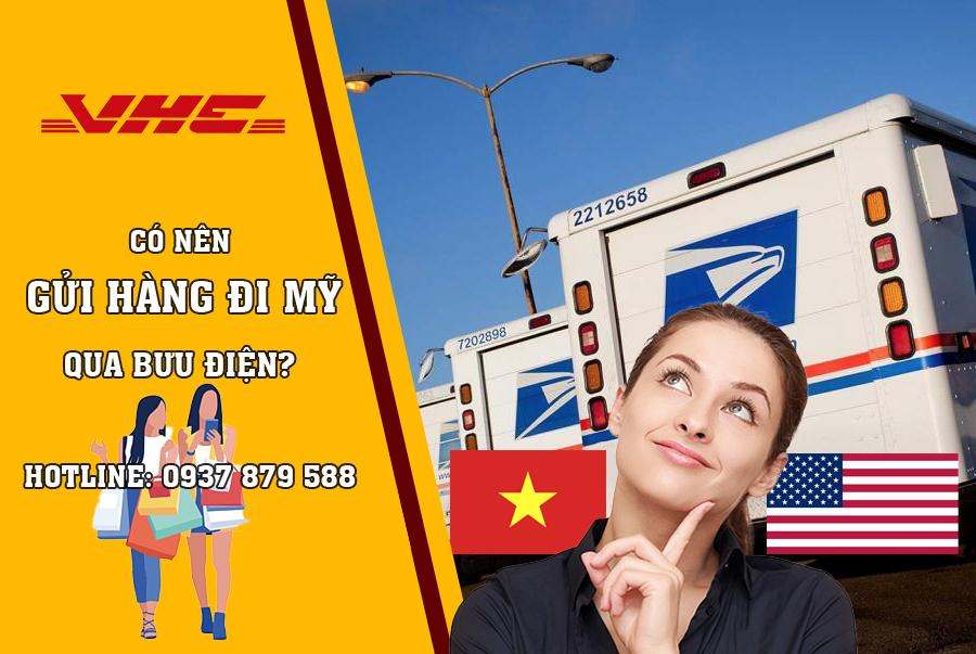Gửi hàng qua Mỹ bằng bưu điện